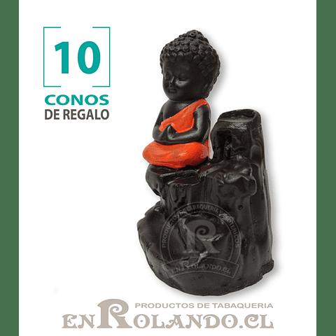 Porta Cono Cascada de Humo Niño Buda #10 ($4.990 x Mayor)