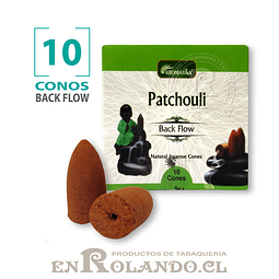 """Caja 10 Conos Cascada """"Pachuli"""" ($750 x Mayor)"""