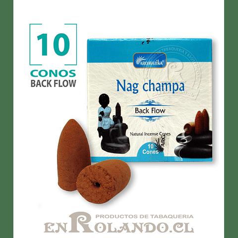 """Caja 10 Conos Cascada """"Nag Champa"""" ($750 x Mayor)"""
