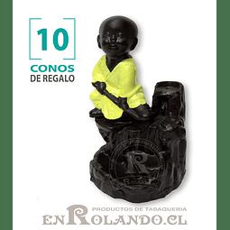 Porta Cono Cascada de Humo Niño Buda #03 ($4.990 x Mayor)