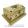 Caja Cubierta en Metal Labrado #08 ($7.990 x Mayor)