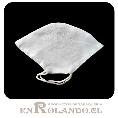 Mascarilla de Tela Blanca - 2 capas ($790 x Mayor)