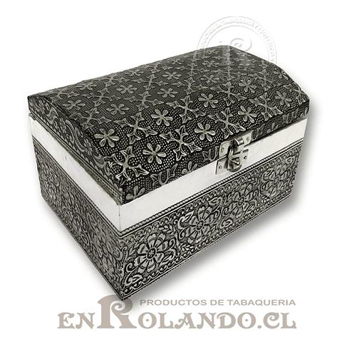 Caja Cubierta en Metal Labrado #13 ($7.990 x Mayor)