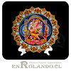 Plato Decorado Ganesha en Relieve ($2.990 x Mayor)