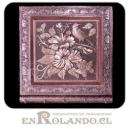 Porta Llaves Cubierta en Metal Labrado #07 ($7.990 x Mayor)