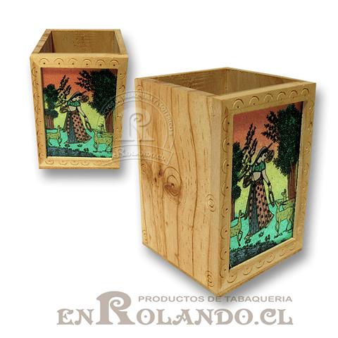 Caja Madera Pintada #451 ($2.490 x Mayor)