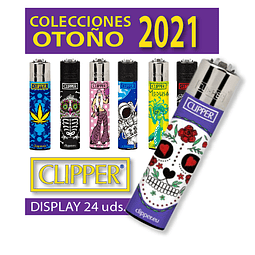 Encendedor Clipper Otoño 2021 - Display