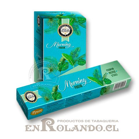 """Incienso Made in Heaven """"Mañana Fresca"""" - 12 Cajitas"""