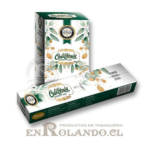 """Incienso Made in Heaven """"Salvia Blanca de California"""" - 12 Cajitas"""