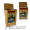 Porta Llaves Madera Pintado #453 ($2.490 x Mayor)