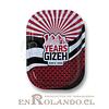 Bandeja Gizeh Roja para Enrolar 18 cm ($1.990 x Mayor)