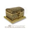 Caja Cubierta en Metal Labrado #10 ($2.990 x Mayor)