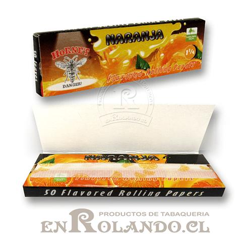 Papelillo Hornet sabor Naranja 1 1/4 - Display