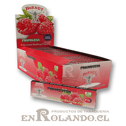 Papelillo Hornet sabor Frambuesa 1 1/4 - Display