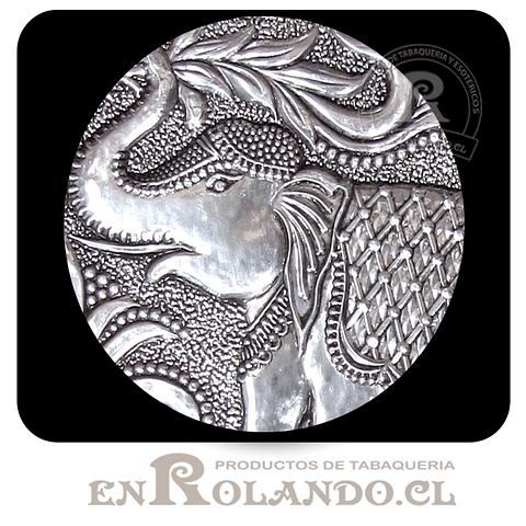 Porta Llaves Cubierta en Metal Labrado #105 ($4.990 x Mayor)
