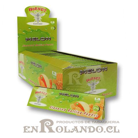 Papelillo Hornet sabor Melón 1 1/4 - Display