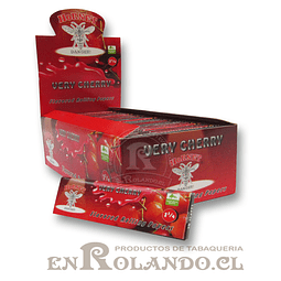 Papelillo Hornet sabor Cherry 1 1/4 - Display