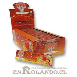 Papelillo Hornet sabor Durazno 1 1/4 - Display