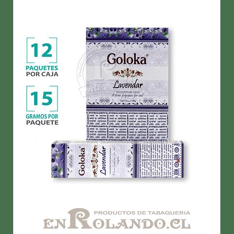 """Incienso Goloka """"Lavanda"""" - 12 Cajitas de 15 gr."""