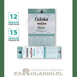 """Incienso Goloka """"Divino"""" - 12 Cajitas de 15 gr."""