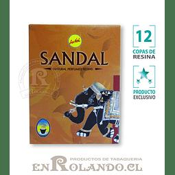 """Sahumerio SreeVani """"Sándalo"""" - 12 Copas ($1.490 x Mayor)"""