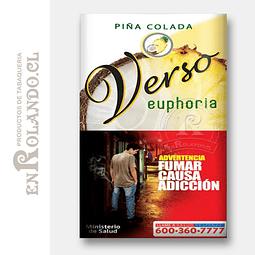Tabaco Verso Euphoria Piña Colada ($5.490 x Mayor)