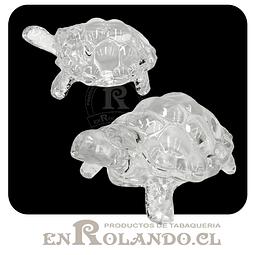 Figura Tortuga Cristal 18 cm ($3.990 x Mayor)