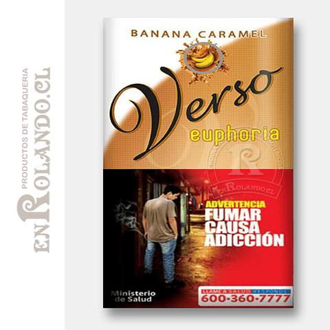 Tabaco Verso Euphoria Banana Caramelo ($5.490 x Mayor)