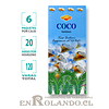 "Incienso SAC ""Coco"" ($1.600 x MAYOR) - 120 varas"