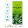 "Incienso SAC ""Eucaliptus"" ($1.600 x MAYOR) - 120 varas"