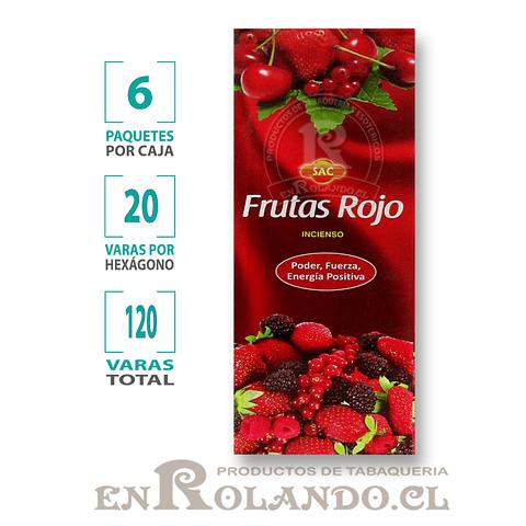 "Incienso SAC ""Frutos Rojos"" ($1.600 x MAYOR) - 120 varas"