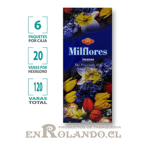 "Incienso SAC ""Milflores"" ($1.600 x MAYOR) - 120 varas"