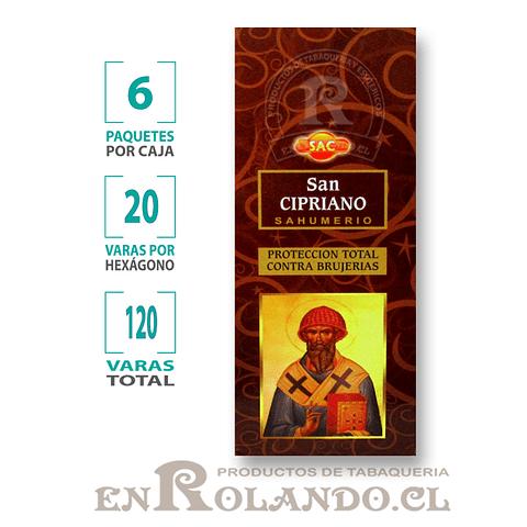 "Incienso SAC ""San Cipriano"" ($1.600 x MAYOR) - 120 varas"