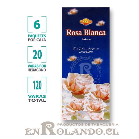 "Incienso SAC ""Rosa Blanca"" ($1.600 x MAYOR) - 120 varas"