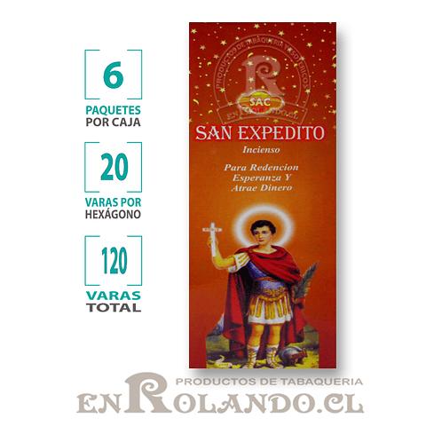 "Incienso SAC  ""San Expedito"" ($1.600 x MAYOR) - 120 varas"