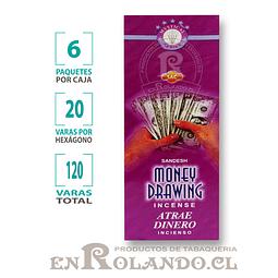"""Incienso SAC  """"Atrae Dinero"""" ($1.600 x MAYOR) - 120 varas"""