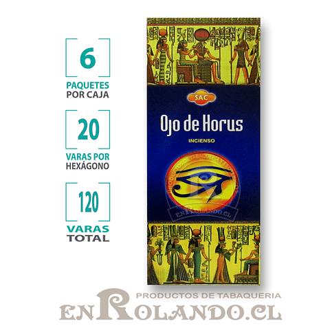 "Incienso SAC  ""Ojo de Horus"" ($1.600 x MAYOR) - 120 varas"