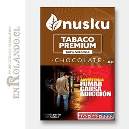 Tabaco Virginia Chocolate Nusku + Regalo ($3.490 x Mayor)