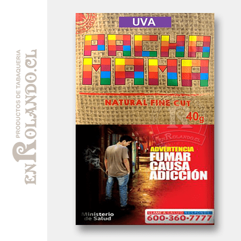 Tabaco Pacha Mama Uva ($4.200 x Mayor)