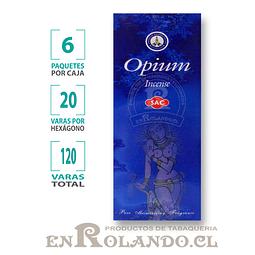 "Incienso SAC  ""Opium"" ($1.600 x MAYOR) - 120 varas"