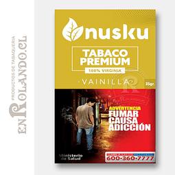 Tabaco Virginia Vainilla Nusku + Regalo ($3.490 x Mayor)