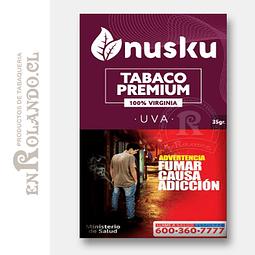 Tabaco Virginia Uva Nusku + Regalo ($3.490 x Mayor)