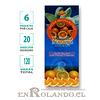 """Incienso SAC  """"Vainilla - Naranja"""" ($1.600 x MAYOR) - 120 varas"""