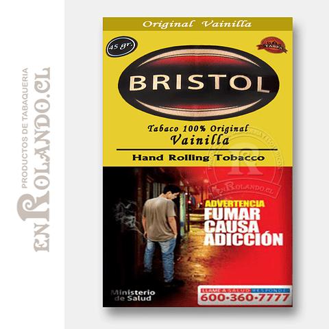 Tabaco Virginia Bristol Vainilla 45 Grm. ($4.490 x Mayor)