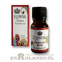 """Esencia Aromática Essential """"Arándano"""" ($790 x Mayor)"""