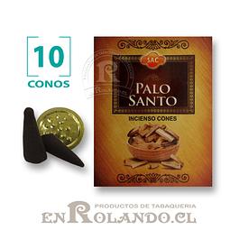 """Caja de 10 Conos Tradicionales """"Palo Santo"""" ($415 x Mayor)"""