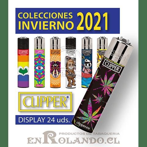 Encendedor Clipper Invierno 2021 - Display