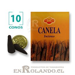 """Caja de 10 Conos Tradicionales """"Canela"""" ($415 x Mayor)"""