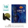"""Caja de 10 Conos Tradicionales """"Opio"""" ($415 x Mayor)"""