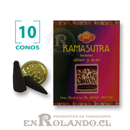 """Caja de 10 Conos Tradicionales """"Kamasutra"""" ($415 x Mayor)"""